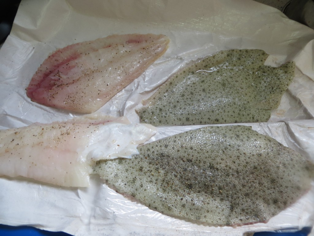 filetes de rodaballo