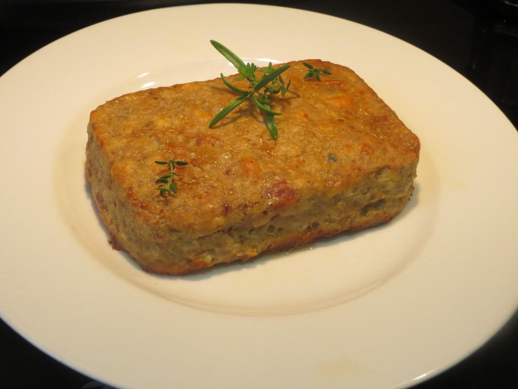 pastel de carne con jamón y trufa
