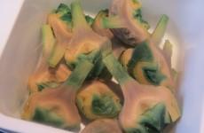 alcachofas acabadas de cocer